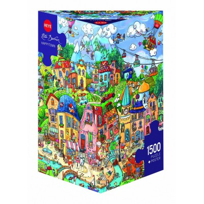 Puzzle Heye-29744 Rita Berman: Happytown