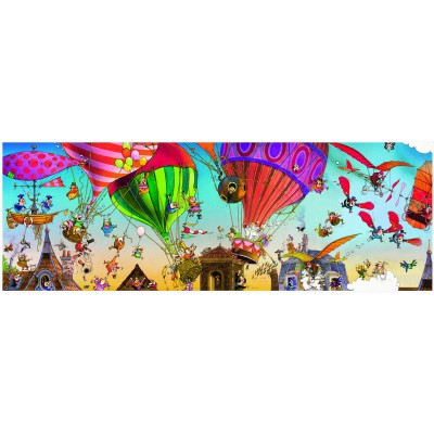 Puzzle Heye-29756 Jean-Jacques Loup: Ballooning