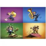 Puzzle  Heye-70168-29501 Degano - Die Musiker