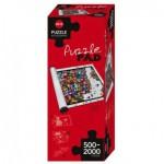 Heye-80589 Puzzle Pad weiß/white