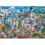 Puzzle  Gibsons-G0469 I Love Great Britain