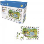Puzzle  Gibsons-G1007 Jungle Safari ABC
