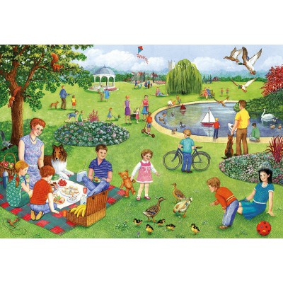 Puzzle Gibsons-G2206 XXL Teile - Picknick-Ausflug
