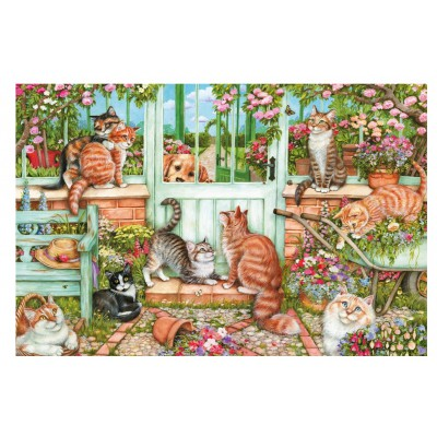 Puzzle Gibsons-G2209 XXL Teile - Debbie Cook: Catch Us If You Can