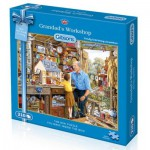 Gibsons-G2300 Puzzle 210 Teile: Mini Puzzle: Grandad's Workshop