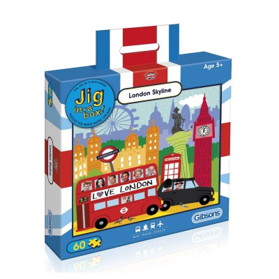Puzzle Gibsons-G2401 London Skyline