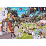 Puzzle  Gibsons-G2703 XXL Teile - Trevor Mitchell: The Village Fete