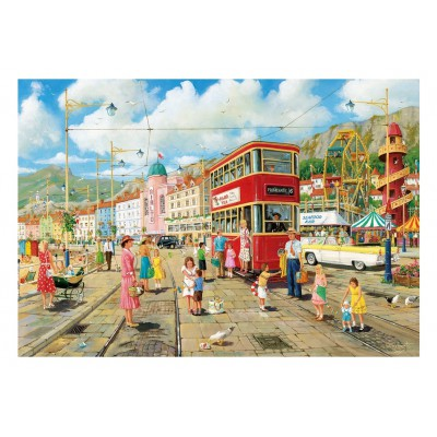 Puzzle Gibsons-G2704 XXL Teile - Taking the Tram