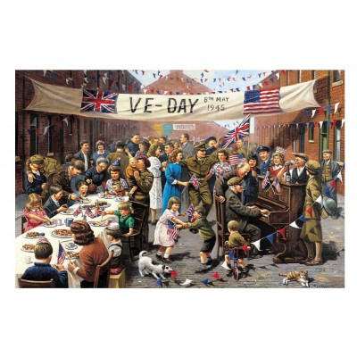 Puzzle Gibsons-G2705 XXL Teile - VE Day