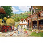 Gibsons-G3060 Puzzle 500 Teile: Tea at the Farm
