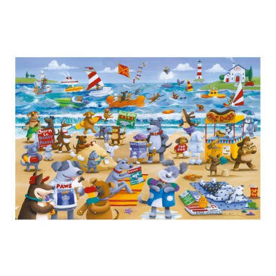 Puzzle Gibsons-G3080 Doggy Paddle