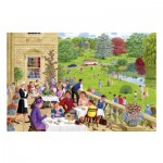 Puzzle  Gibsons-G3084 Sarah Adams: Tea on the Terrace