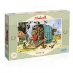 Puzzle  Gibsons-G3086 Thelwell Boxing Up