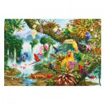 Puzzle  Gibsons-G3514 XXL Teile - John Francis: Exotic Friends