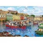 Puzzle  Gibsons-G3519 XXL Teile - Dominic Davidson - Cobh Harbour