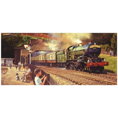 Puzzle Gibsons-G4030 Philip Hawkins: Sunshine and Steam