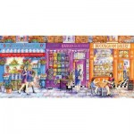 Puzzle  Gibsons-G4036 Val Goldfinch - Bouquets, Beads & Bloomers