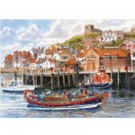 Gibsons-G5010 Puzzle 2 x 1000 Teile - The Port of Whitby