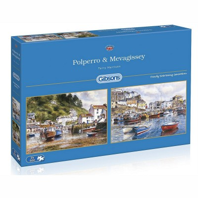 Puzzle Gibsons-G5019 Polperro & Mevagissey