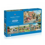Gibsons-G5033 4 Puzzles - Trevor Mitchell: Bobby's Beat