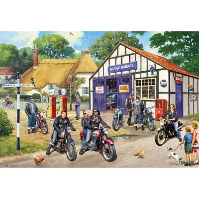 Gibsons-G5036 2 Puzzles - Mods and Rockers