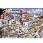 Puzzle  Gibsons-G591 Mike Jupp: I Love Boats