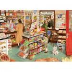 Puzzle  Gibsons-G6064 Tracy Hall: Der Kaufladen