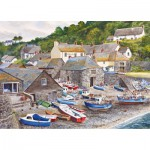 Gibsons-G6104 Puzzle 1000 Teile: Cadgwith Cove