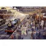 Puzzle  Gibsons-G6151 Philip d'Hawkins: Summer Saturday at Snow Hill
