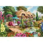 Puzzle  Gibsons-G6157 John Francis - Cottage: Das kleine Geheimnis