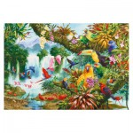 Puzzle  Gibsons-G6167 John Francis: Exotic Friends