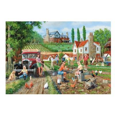 Puzzle Gibsons-G6176 Derek Roberts: Land Girls