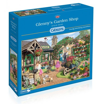 Puzzle Gibsons-G6178 Steve Read: Glenny's Garden Shop