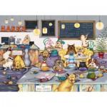 Puzzle  Gibsons-G6182 Linda Jane Smith: Barks Cafe