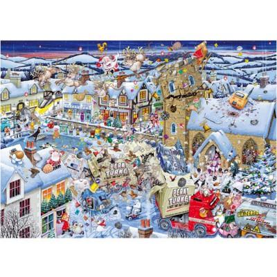 Puzzle Gibsons-G7013 Ich liebe Weihnachten