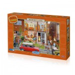 Puzzle  Gibsons-G7059 Memory Lane Our House 1960s