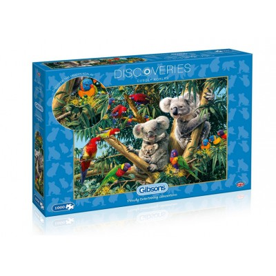 Puzzle Gibsons-G7062 Cuddly Koalas