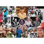 Puzzle  Gibsons-G7068 Our Queen - The Longest Reign