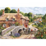 Puzzle  Gibsons-G8005 Packhorse Bridge