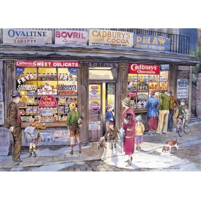 Puzzle Gibsons-G857 Der Laden an der Ecke