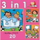 Noa: 3 Puzzles in 1