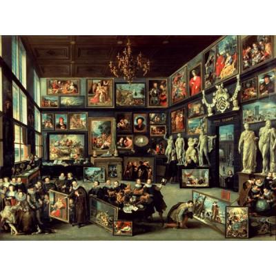 PuzzelMan-063 Willem Van Haecht Puzzle: Die Gemäldegalerie