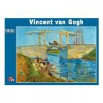 Puzzle  PuzzelMan-086 Van Gogh: Die Brücke von Arles