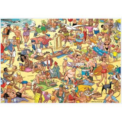 Puzzle PuzzelMan-092 Urlaub am Strand