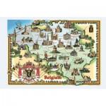 Puzzle  PuzzelMan-094 Manneken Pis und seine Verkleidungen, Brüssel