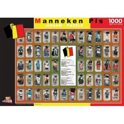 Puzzle PuzzelMan-096 Belgien: Manneken Pis