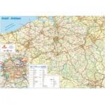 Puzzle  PuzzelMan-107 Belgienkarte