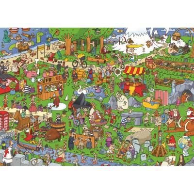 Puzzle PuzzelMan-121 Jedem sein Europa !