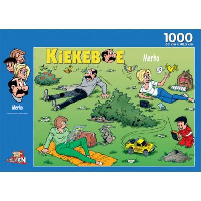 Puzzle PuzzelMan-144 Erholung im Grünen