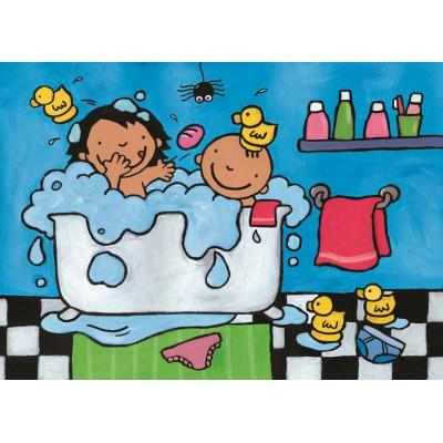 Puzzle PuzzelMan-268 Noa: Im Badezimmer